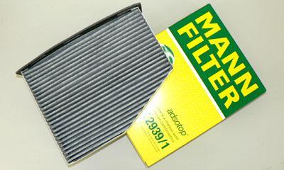 MANN FILTER(エアコンフィルター) Golf6/Golf5/A3/TT image 1