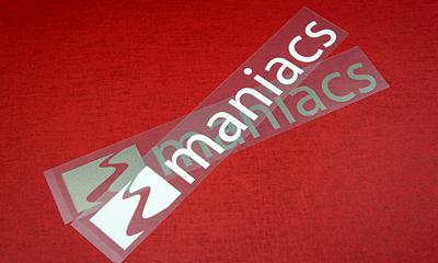 maniacs ステッカー image 1