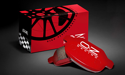 * O・Z RACING-BRAKE PAD (STREET/BP001) 【お取り寄せ商品】 image 1