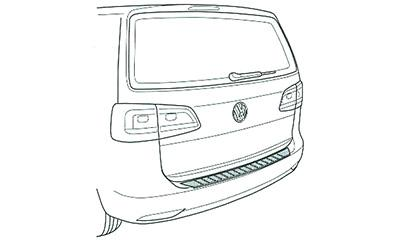 VW Trunk Sill Protection (Touran(1T3)) image 1