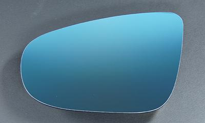 AUTO STYLE WIDE VIEW BLUE DOOR MIRROR LENS (Golf6/Touran(1T3)) image 1