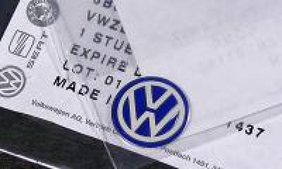 VW Key Fob Badge(アルミプレートタイプ) image 1